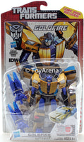 Transformers Generations Deluxe Class Goldfire Thrilling 30 Anniversary 2014 IDW