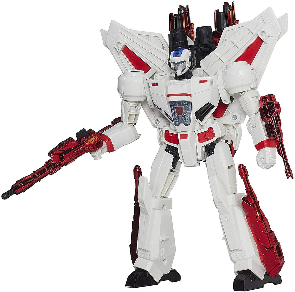 Transformers Generations Thrilling 30 Leader Class Jetfire Action Figure 2