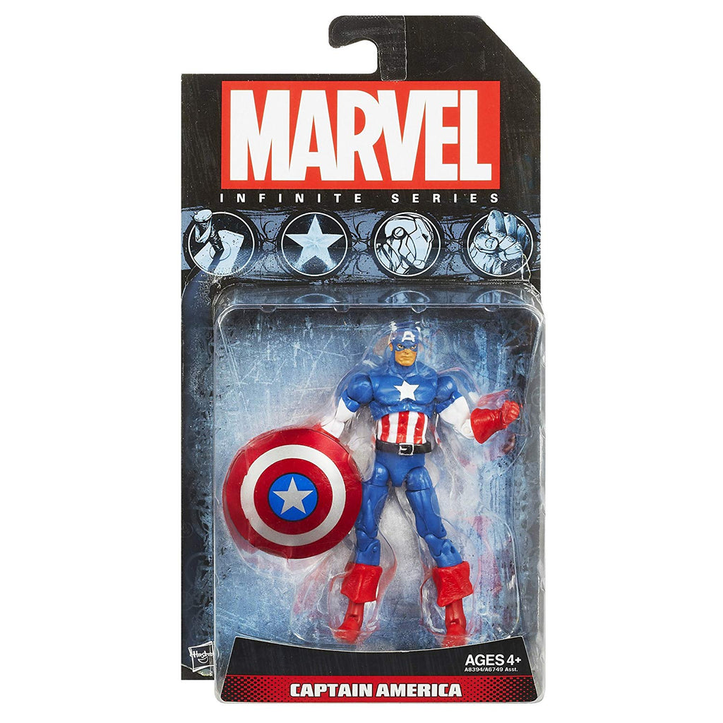 Marvel Infinite Series Captain America 3.75 inch Action Figure 1