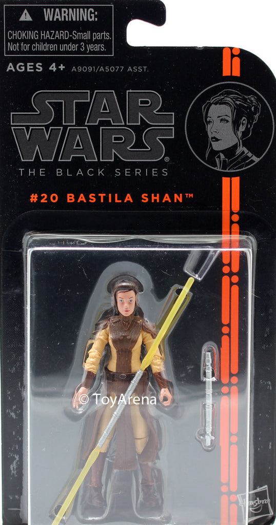 LOOSE - Star Wars The Black Series #20 Bastila Shan 3.75 Inch Action Figure