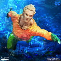 Mezco Toys One:12 Collective: Classic Aquaman Action Figure 3