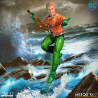 Mezco Toys One:12 Collective: Classic Aquaman Action Figure 5