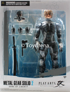 Metal Gear Solid 2: Sons of Liberty Raiden Play Arts Kai Action Figure