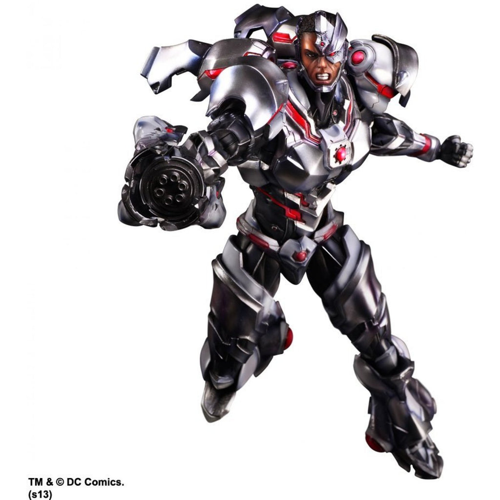 DC Universe Justice League Cyborg Variant Anime Style Play Arts Kai Action Figure 1