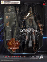 Metal Gear Solid V (5) The Phantom Pain Punished Snake Play Arts Kai Action Figure Sneak Preview Ver SDCC 2014 Exclusive