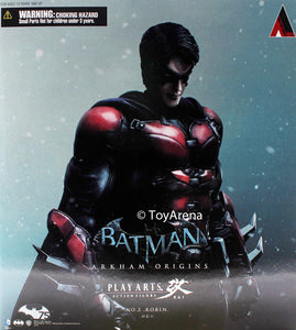 DC Batman Arkham Origins Robin Play Arts Kai Action Figure