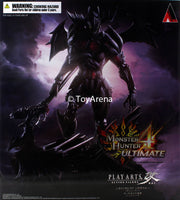 Monster Hunter 4 Diablos Armor Rage Set Version Ultimate Play Arts Kai Figure