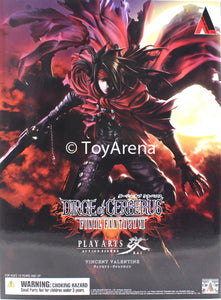 Dirge of Cerberus Final Fantasy VII Vincent Valentine Play Arts Kai Action Figure
