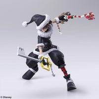 Bring Arts Kingdom Hearts II Sora Christmas Town Ver. Square Enix Figure