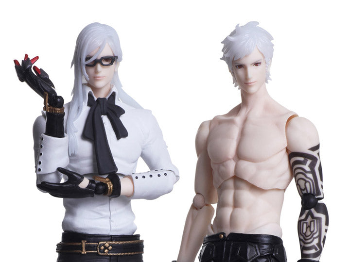 Square Enix Bring arts Nier: Automata Adam & Eve Action Figure Set