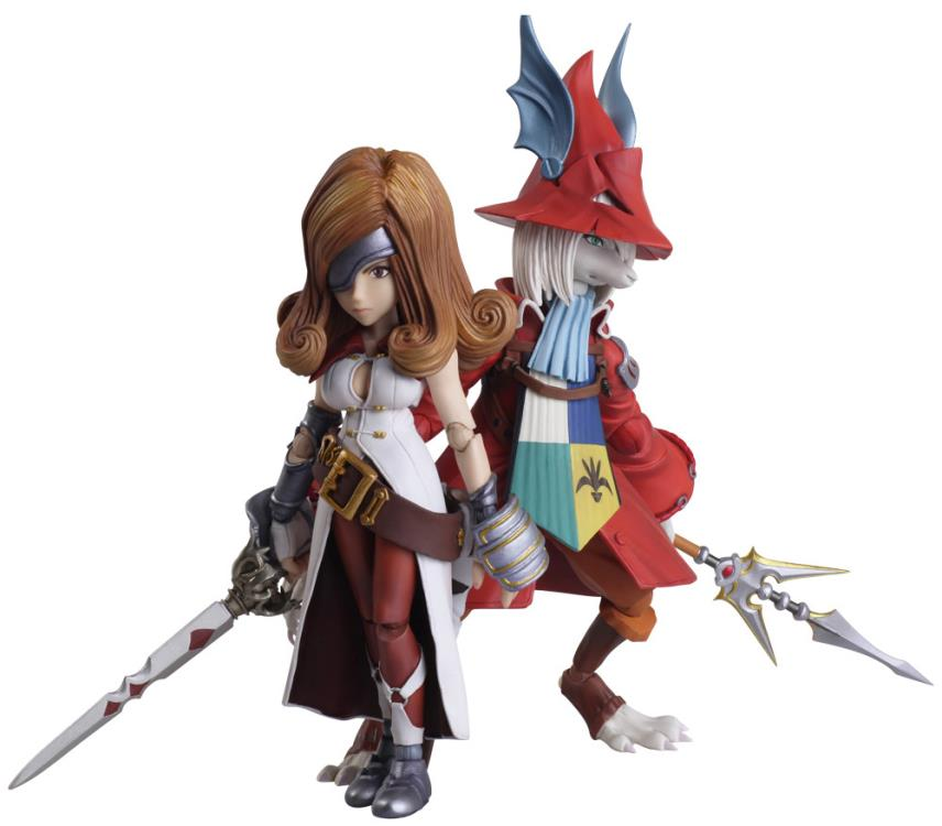 Square Enix Bring Arts Final Fantasy IX (9) Freya Crescent & Beatrix Action Figures