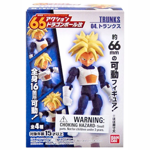 Bandai 66 Action Dash Dragon Ball Z Super Saiyan Trunks Action Figure