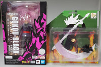 SDCC 2019 SH Figuarts Gokou Black Super Saiyan Rose Goku and Box Tortoise DB-01 Impostor Rage Custom Weapon Set + First Batch Bonus