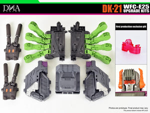 DNA Design DK-21 Upgrade kit for WFC-E25 Scorponok