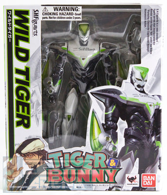S.H. Figuarts Wild Tiger Tiger & Bunny Action Figure