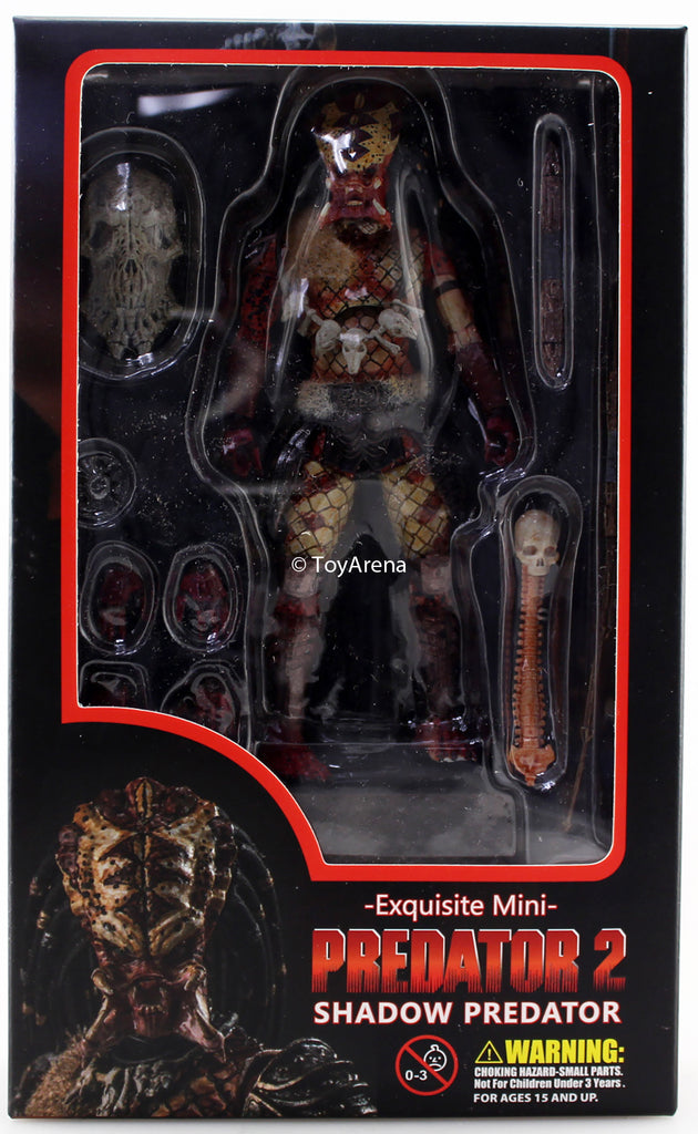 Hiya Toys 1/18 Predator 2 PX Exclusive Shadow Snake Predator Action Figure