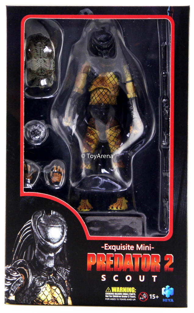 Hiya Toys 1/18 Predator 2 PX Exclusive Scout Predator Action Figure
