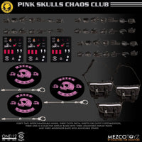 Mezco Toys One:12 Collective: Rumble Society Pink Skulls Chaos Club Fall Exclusive Action Figure