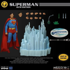 Mezco Toys One:12 Collective: DC Comics Superman (1978) Exclusive Action Figure