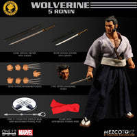 Mezco Toys One:12 Collective: Wolverine 5 Ronin Action Figure
