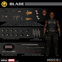 Mezco One: 12 Blade (MDX Edition) Action Figure Exclusive