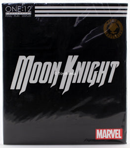 SDCC 2019 Mezco Toys One:12 Moon Knight Crescent Edition Exclusive Action Figure