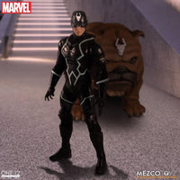 Mezco Toys One:12 Collective: Marvel Black Bolt and Lockjaw Action Figure 2