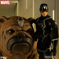Mezco Toys One:12 Collective: Marvel Black Bolt and Lockjaw Action Figure 3
