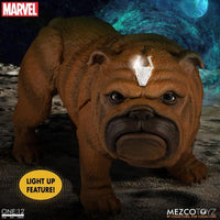 Mezco Toys One:12 Collective: Marvel Black Bolt and Lockjaw Action Figure 5