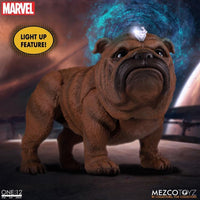 Mezco Toys One:12 Collective: Marvel Black Bolt and Lockjaw Action Figure 6