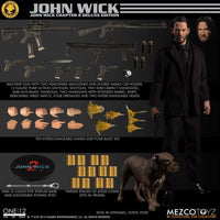 Mezco Toys ONE:12 Collective John Wick Chapter 2 John Wick Deluxe Edition Exclusive Action Figure