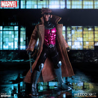 Mezco Toys One:12 Collective: Gambit Action Figure 4