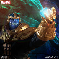 Mezco Toys One:12 Collective: Thanos (Comic) Action Figure 4