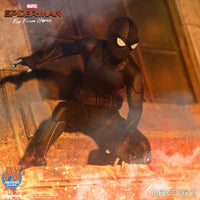 Mezco Toys ONE:12 Collective Spider-Man (Stealth Suit) PX Preview Exclusive Action Figure
