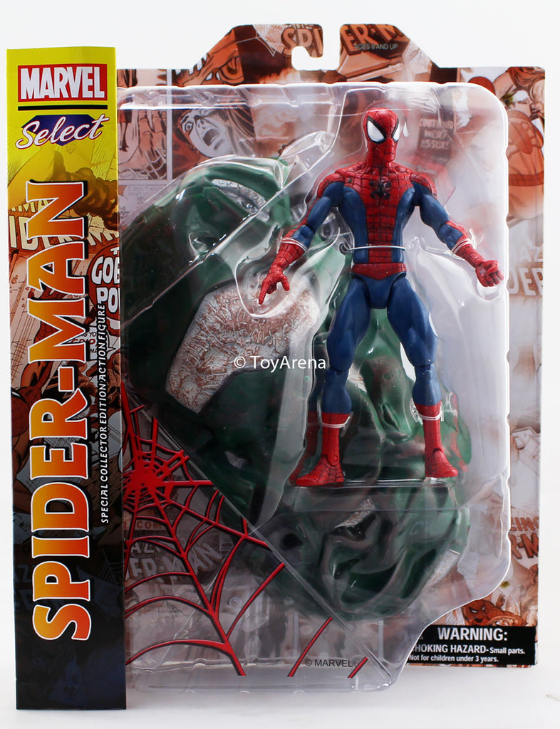Marvel Select Spider-Man Spiderman Action Figure