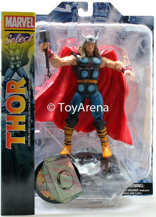Marvel Select Classic Thor God Of Thunder Action Figure