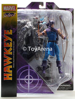 Marvel Select Classic Hawk-Eye Hawkeye Action Figure