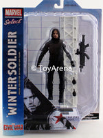 Marvel Select Winter Soldier From Captain America Civil War Action Figure