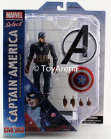 Marvel Select Captain America From Captain America Civil War Action Figure