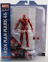 Marvel Select Iron Man MK46 From Captain America Civil War Action Figure