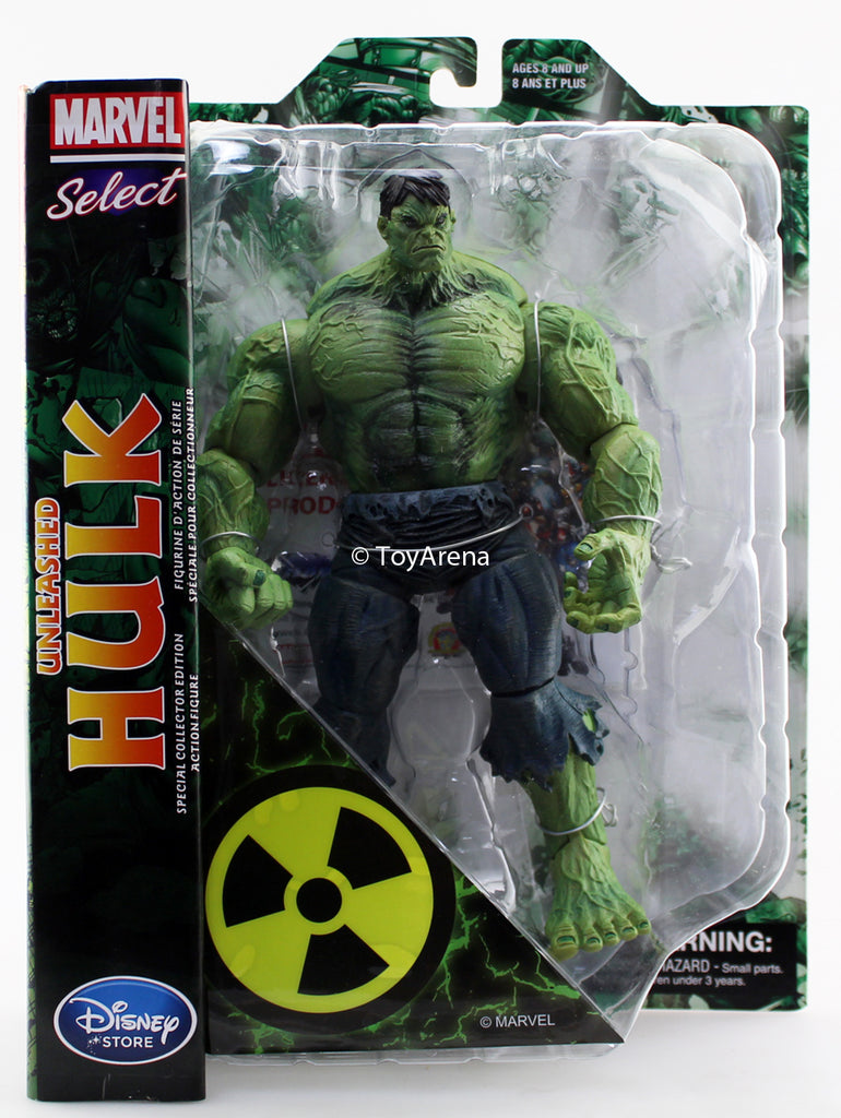 MARVEL Unleashed Hulk by the art of Marc Silvestri Action Figure Diamond Select