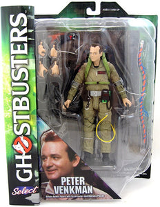 Diamond Ghostbusters Select Peter Venkman Action Figure