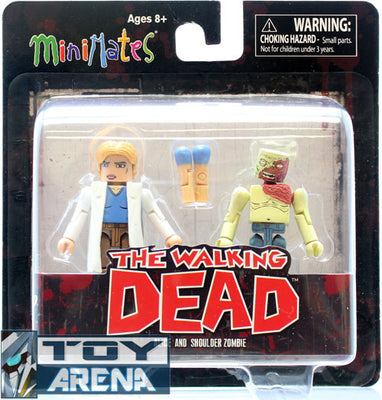 Minimates The Walking Dead Series 4 Alice and Shoulder Zombie Pack Action Figure