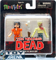 Minimates The Walking Dead Series 4 Prison Lori and Sholder Zombie Pack Action Figure