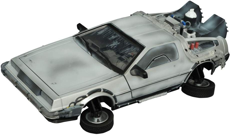 Diamond Select Back to the Future 2 Frozen Time Machine Electronic Vehicle 1