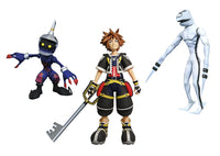 Diamond Kingdom Hearts Select Sora, Dusk, and Soldier Action Figure Set
