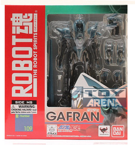 Robot Spirits Damashii #109 Gafran Gundam Age Action Figure (Item has Shelfware)