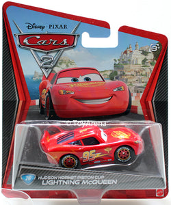 Disney Pixar Cars 2 Movie #26 Lightning McQueen Hudson Hornet Piston Cup