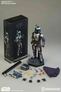 Sideshow Collectibles 1/6 Star Wars Episode II Attack of the Clones Jango Fett Sixth Scale Figure 1