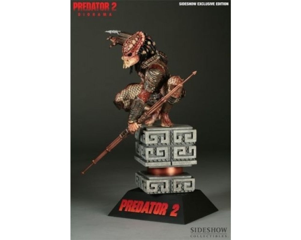 Sideshow Collectibles Predator 2 Diorama Statue (City Hunter) 1